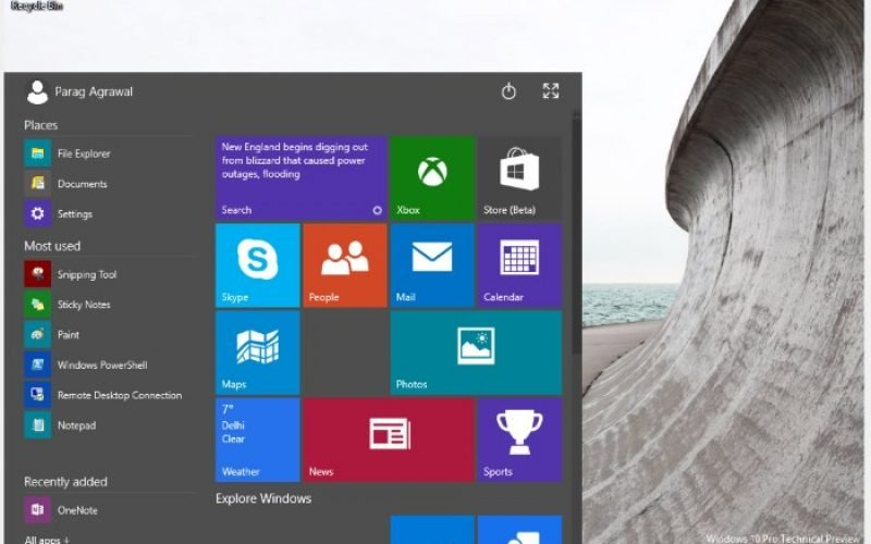 Hands on Windows 10 Preview – I know you, Have we met before?