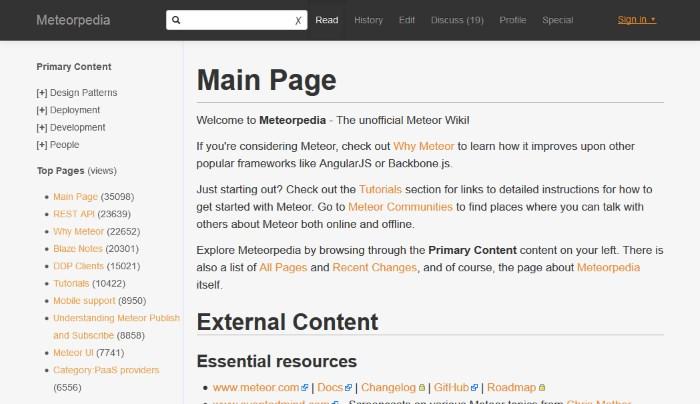Meteorpedia Meteor Wiki