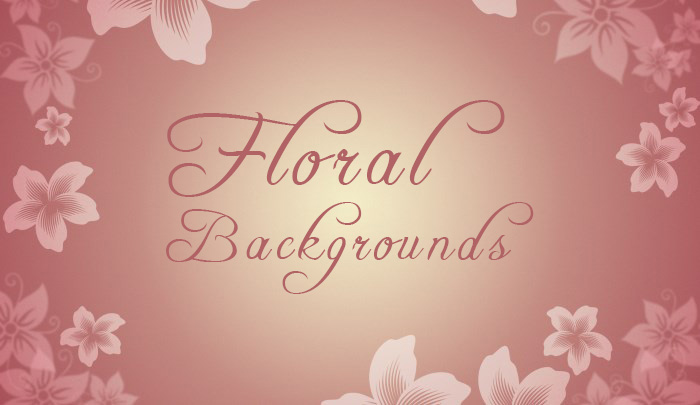free floral backgrounds