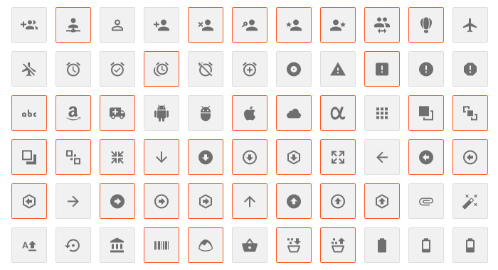 6 Free Material Design Icon Packs - Super Dev Resources