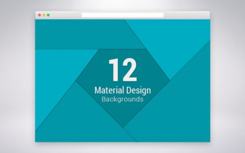12 Free Material Design Promotional Backgrounds