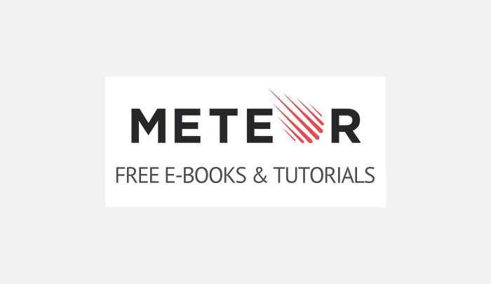 Free ebooks & tutorials for Meteor JS