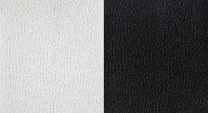 Black White Leather Textures
