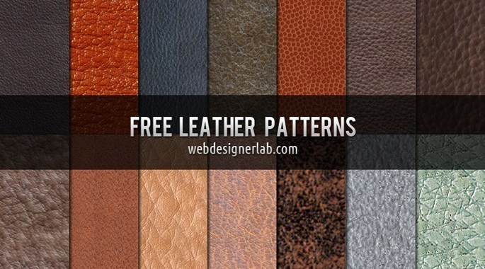 leather patterns photoshop