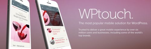 WPTouch WordPress plugin for responsive websites