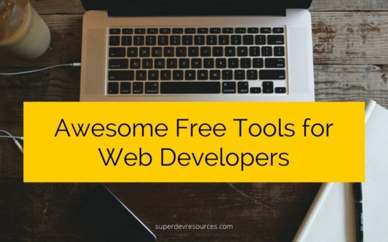 15 Awesome Free Tools & Resources for Web Developers