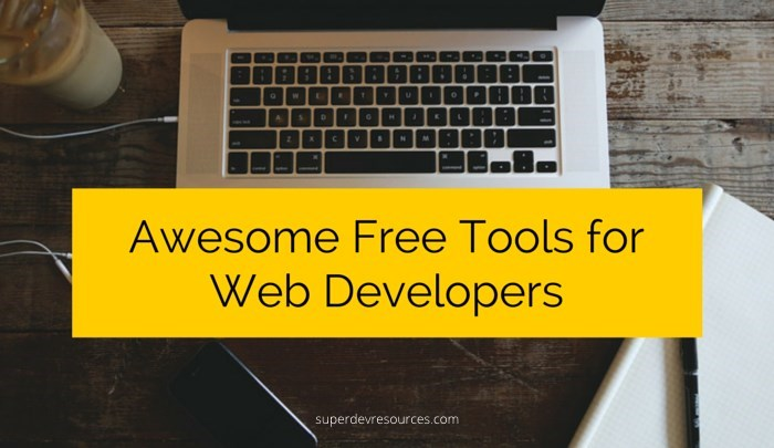 Free Web Development Tools