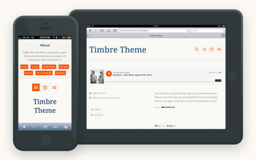 Best Free Responsive Tumblr Themes of 2015