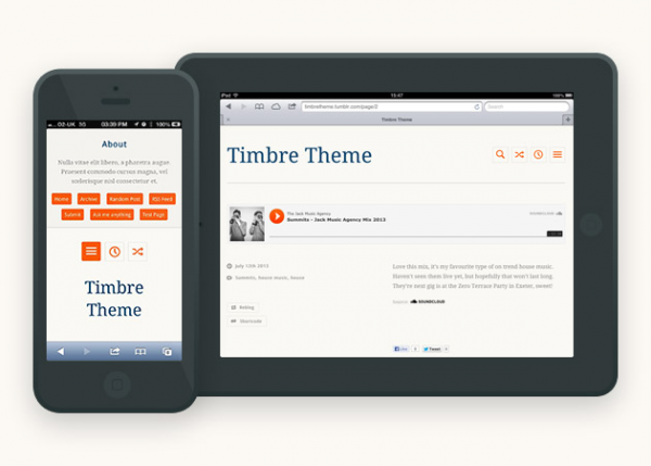 timbre-tumblr-theme