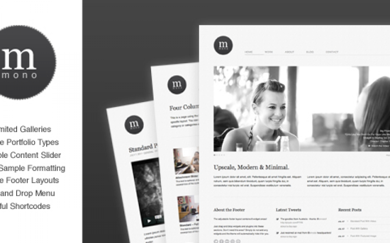 12 Best Free Minimal WordPress Themes for Blogs and Portfolio