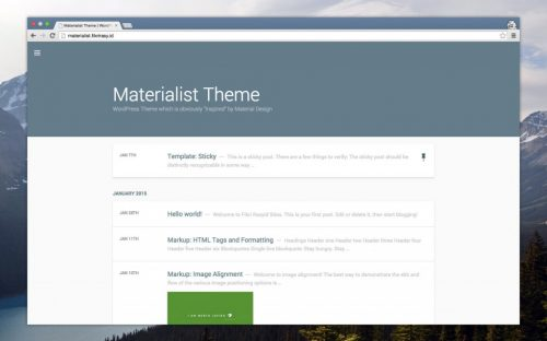 30+ Material Design WordPress Themes for Free Download & Premium