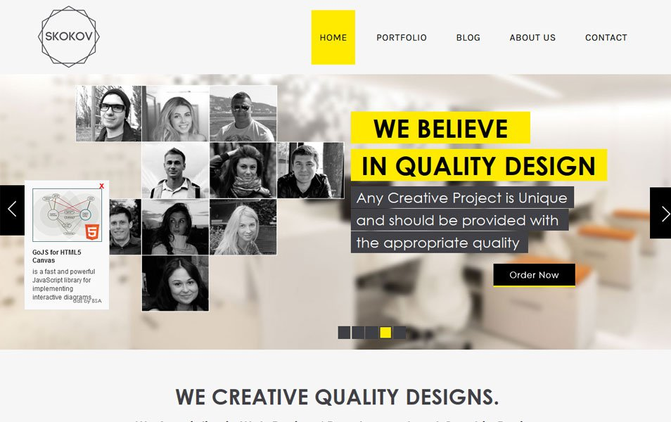 Free Responsive HTML & CSS templates for mobile friendly websites ...