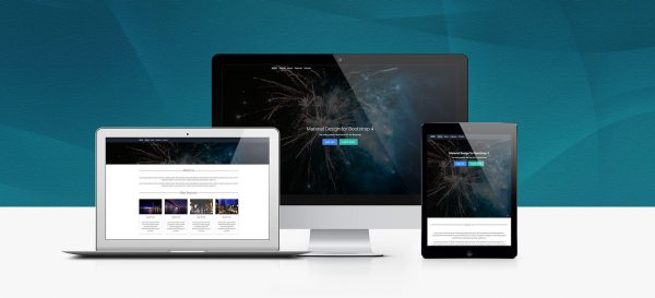 30+ material design html5 templates available for download (free, Presentation templates