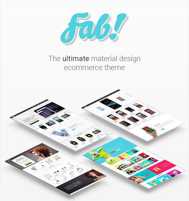 fab woocommerce material