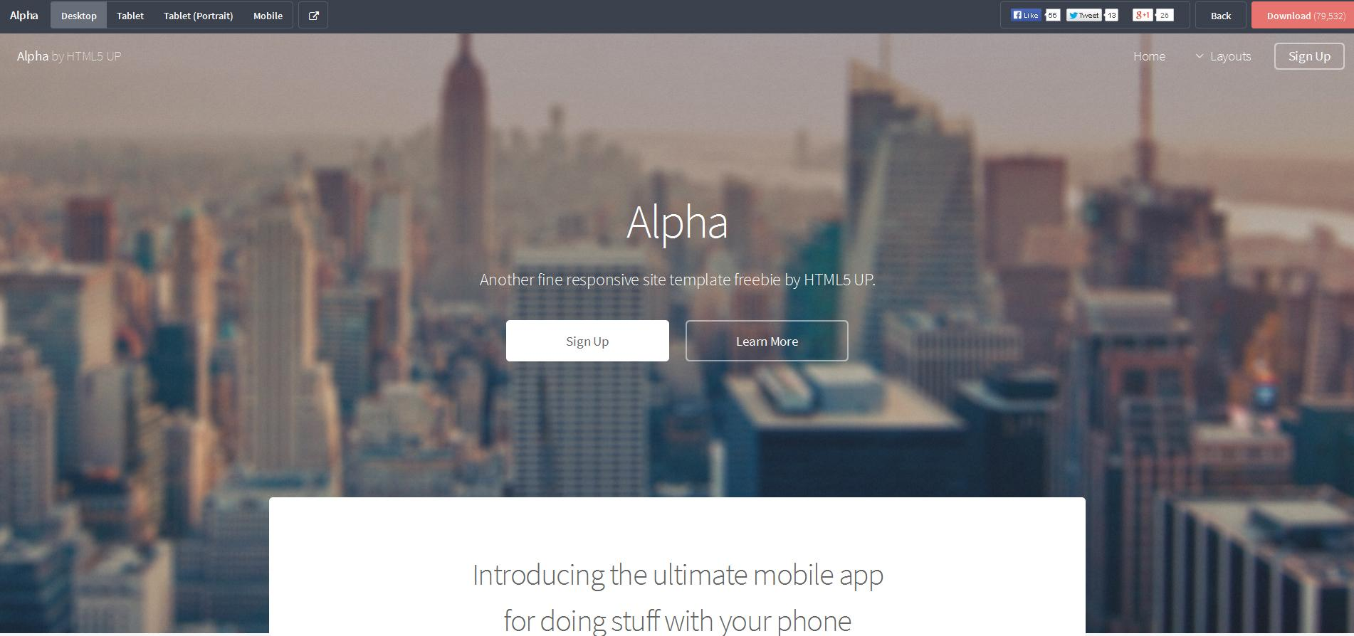 Free Responsive Html Css Templates For Mobile Friendly Websites
