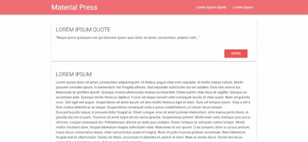 material-press