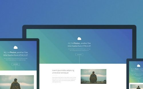 Free Responsive HTML & CSS templates for mobile friendly websites