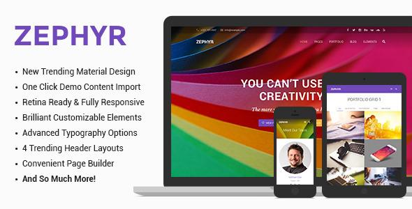 30 material design wordpress themes for free download premium