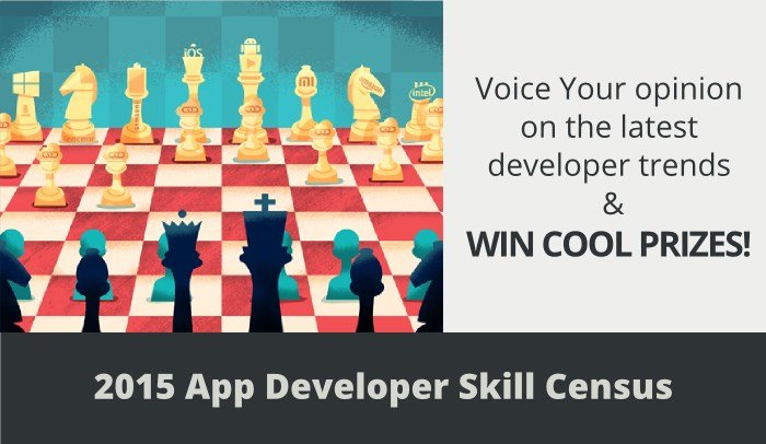 Take the Developer Economics Survey and Win Cool Prizes