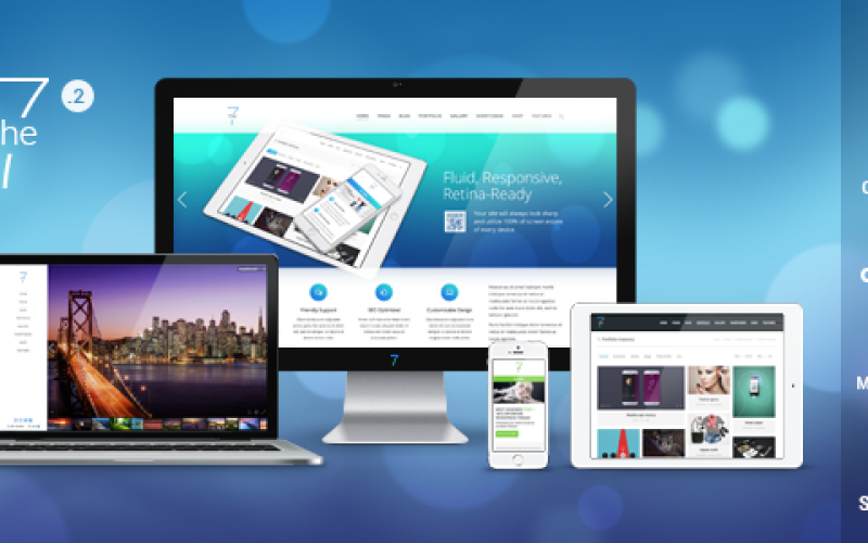 8 Top in class Multi-purpose WordPress themes with responsive design