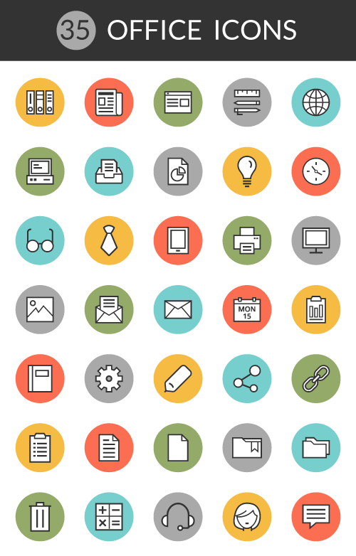 free office icon pack