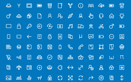 200 Free Icons for Windows 10 Apps