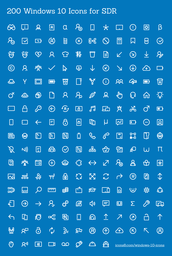 200 free icons for windows 10 apps freebie 17 super
