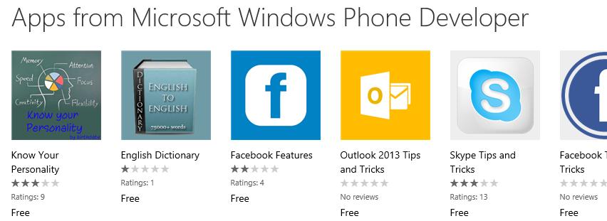 MicrosoftWindowsPhoneDeveloper