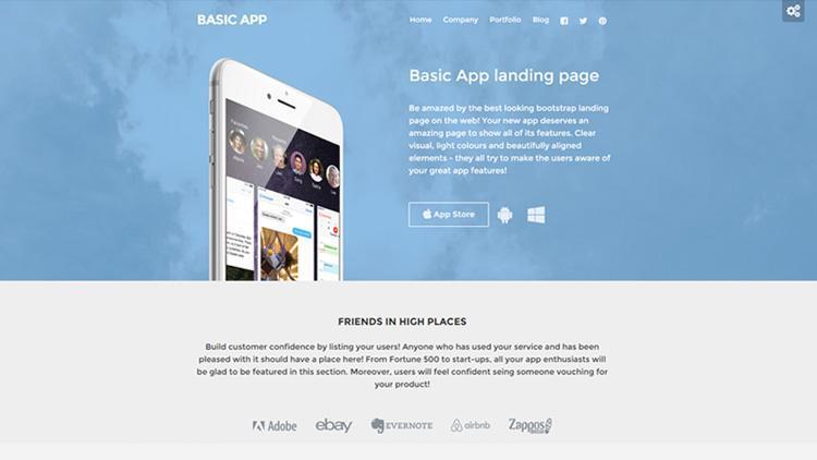 basic-app-landing