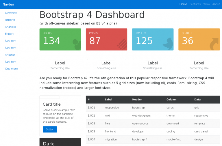 30+ Best Bootstrap Templates for Free Download - Super Dev