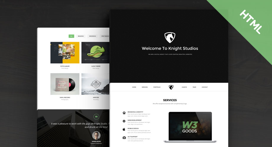 knight-professional-template
