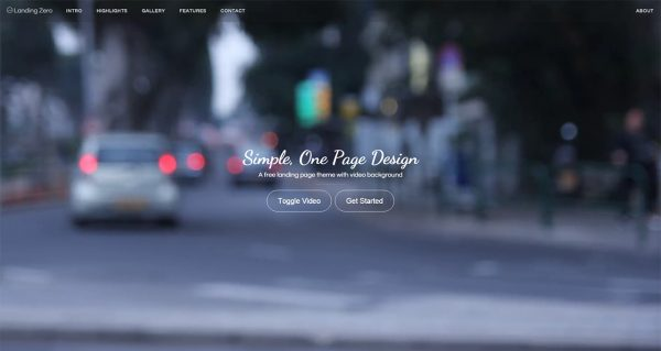 landing-page-template-bootstrap