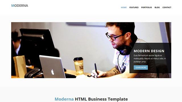 moderna-buisiness-template
