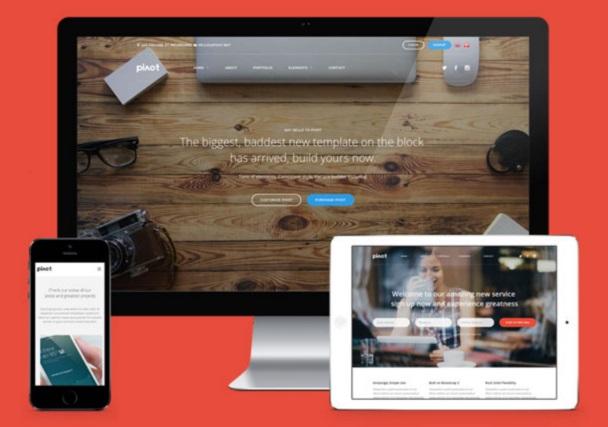 pivot-template-page-builder