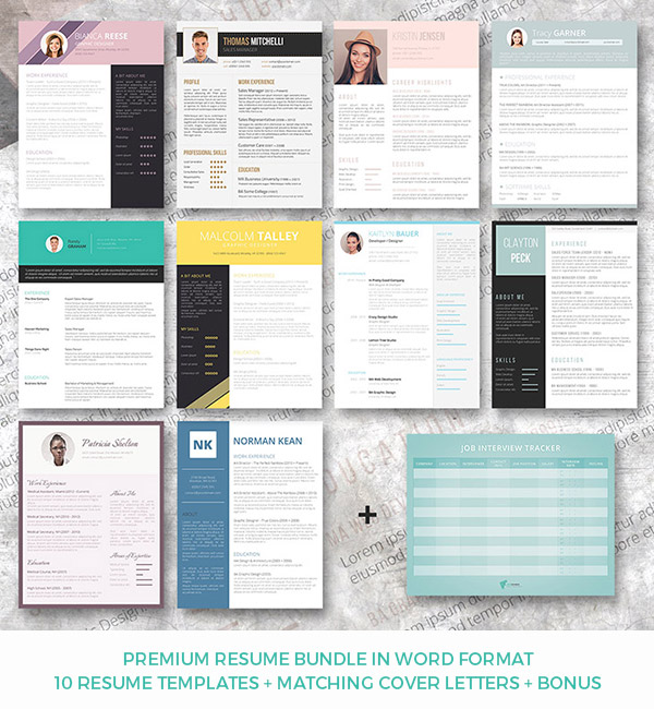 resume templates in word format Dolapmagnetbandco