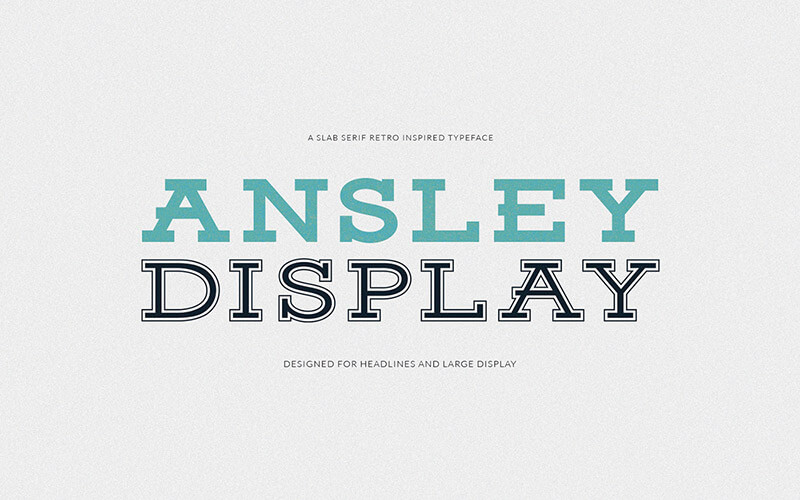 ansley-display-font