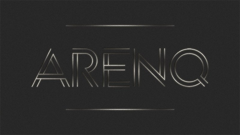 arenq-outlined-font
