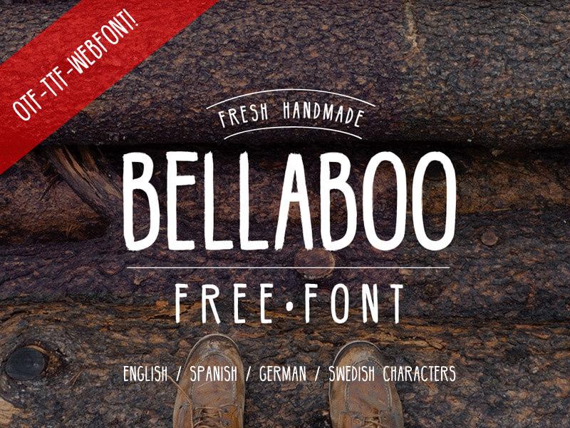 bellaboo-hipster-font