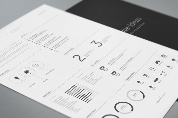 free resume template by fernando bez