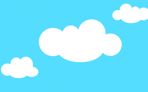 How to Quickly Create Clouds in Inkscape