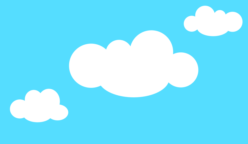 Create clouds in Inkscape image