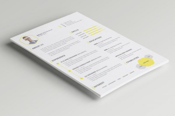 cv-resume-cover-letter-psd-free-download
