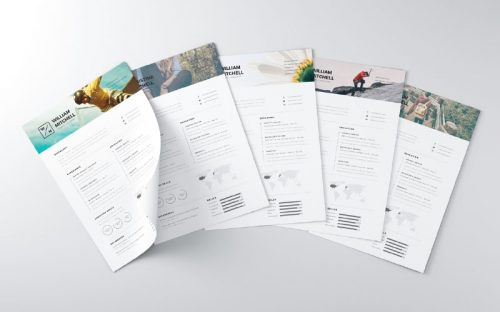 28 Minimal & Creative Resume Templates – PSD, Word & AI (Free Download & Premium)