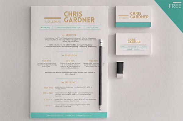 free-minimalistic-resume