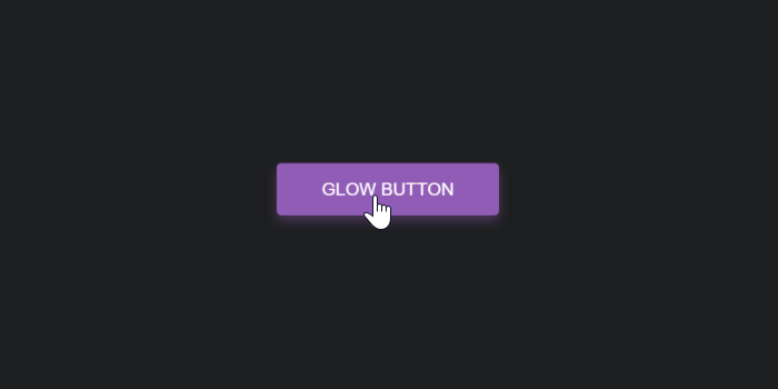 css for button glow effect on hover super dev resources