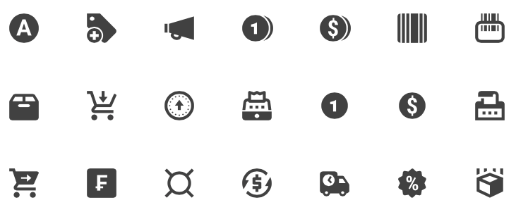 material-design-ecommerce-icons