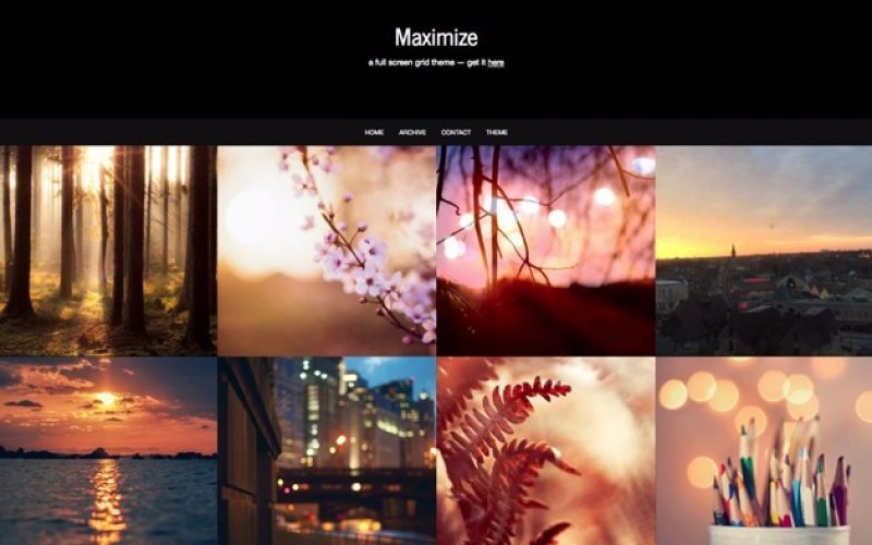 25+ Responsive Tumblr Themes for Photographers & Photobloggers