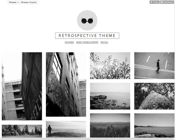 25 Responsive Tumblr Themes For Photographers