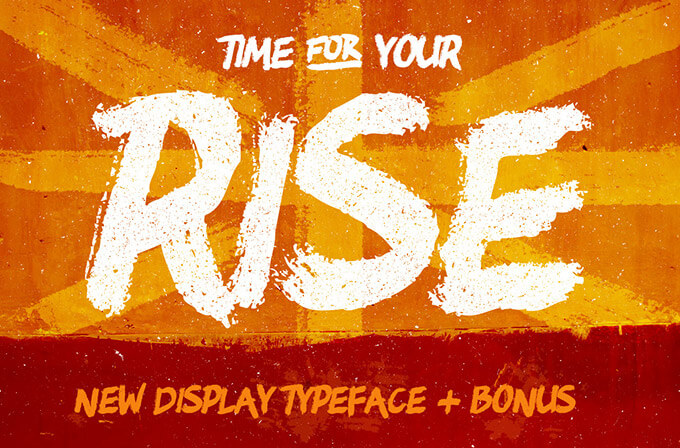 rise-free-brush-typeface