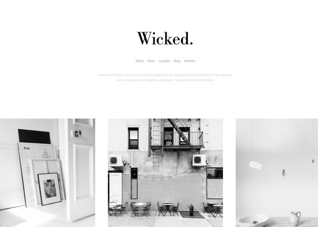 25 responsive tumblr themes for photographers Black and white themes for tumblr